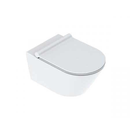 Catalano Zero Toaleta WC podwieszana 54x35 cm Newflush bez kołnierza satin white 1VS55NRBM