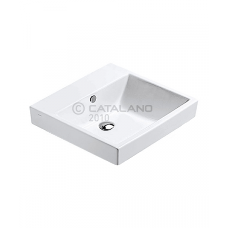 Catalano Zero Umywalka 50x50 cm z powłoką CataGlaze, biała 15QZE00