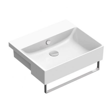Catalano New Zero Umywalka półblatowa 55x47 cm, biała 1LS55ZP00