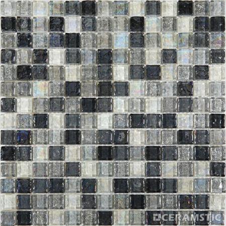 Ceramstic Arte Grey Mozaika szklana 30,5x30,5 cm, szara MS-15