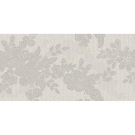 Ceramstic Bohemian Cabaret Creme A1 Płytka ścienna 60x30 cm dekor kwiaty, kremowa DGL-189-A1