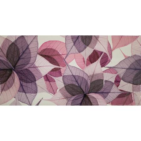 Ceramstic Bohemian Leaves Płytka ścienna 60x30 cm dekor kwiaty DGL-189-AL