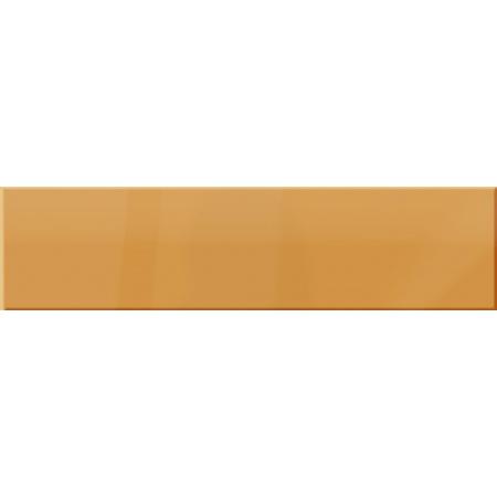 Ceramstic Dekoracje szklane Citrus Płytka ścienna 60x15 cm, pomarańczowa LS-72