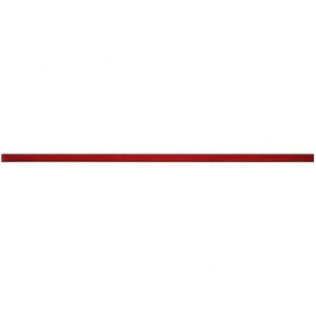 Ceramstic Dekoracje szklane Red Listwa ścienna 60x2,4 cm, czerwona LS-88