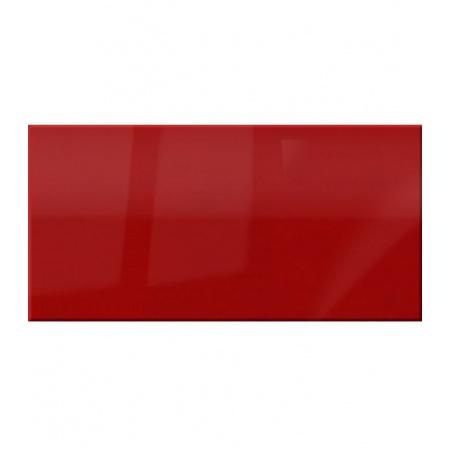 Ceramstic Flame Dekoracja szklana 60x30 cm, czerwona DS-87