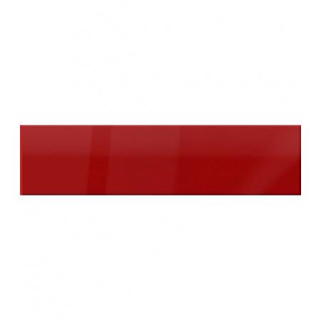 Ceramstic Flame Listwa szklana 60x15 cm, czerwona LS-87-56