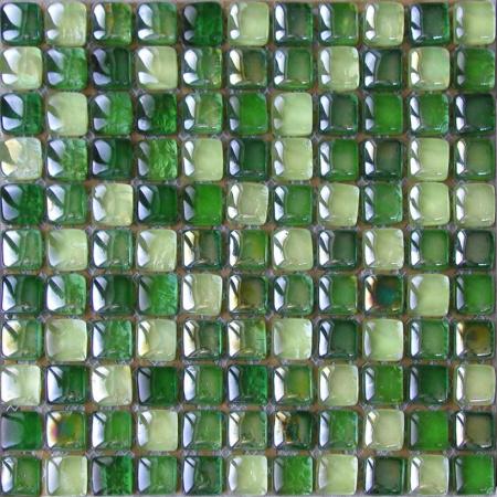 Ceramstic Hard Candy Brown Mozaika szklana 30x30 cm, zielona MS-02