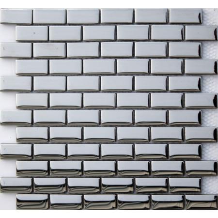 Ceramstic Impress Mozaika szklana 32,5x29,8 cm, szara MS-24