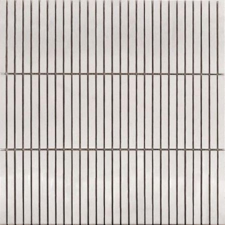 Ceramstic Inox Minx paski Mozaika metalowa 30,5x30x,5 cm, biała MINX-03