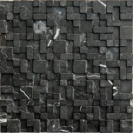 Ceramstic Jungle Mozaika kamienna 30x30 cm, czarna MK-34