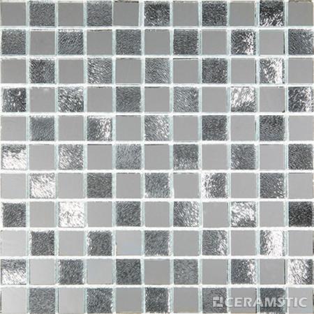 Ceramstic Mirror Silver Mozaika szklana 30x30 cm, srebrna MS-17