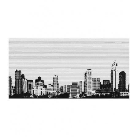 Ceramstic Opp! Urban B Dekor 60x30 cm, szary/czarny DGL-171B