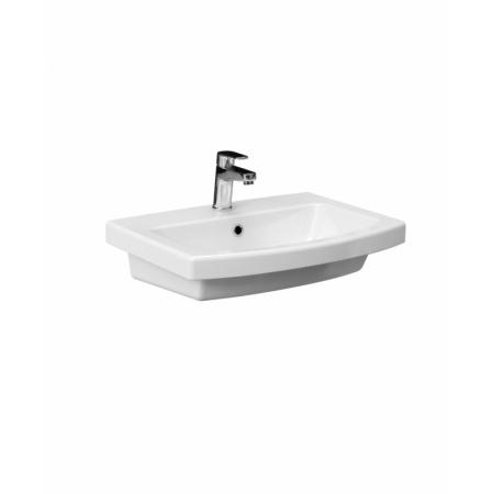 Cersanit Easy Umywalka meblowa 60,5x45,5x14,5 cm, biała K102-014