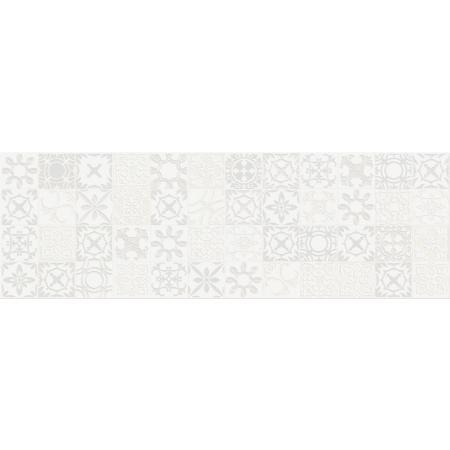 Cersanit Alaya Inserto Patchwork Płytka ścienna 19,8x59,8 cm, szara WD819-001