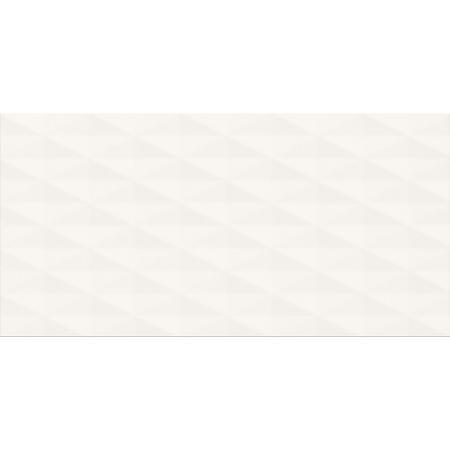 Cersanit PS807 White Satin Diamond Structure Płytka ścienna 29,8x59,8 cm, biała OP988-003-1