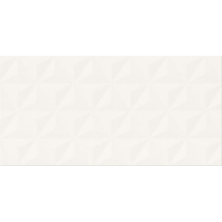 Cersanit PS807 White Satin Geo Structure Płytka ścienna 29,8x59,8 cm, biała OP988-004-1