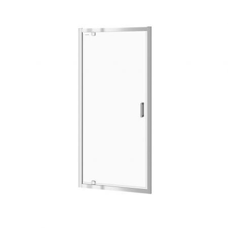 Cersanit Arteco Drzwi prysznicowe uchylne 90x190 cm profile chrom szkło transpartentne CleanPro S157-008
