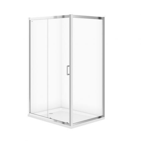 Cersanit Arteco Kabina prysznicowa prostokątna 120x90x190 cm profile chrom szkło transpartentne CleanPro S157-012