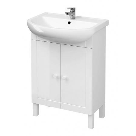 Cersanit Arteco Set 875 Zestaw Szafka podumywalkowa 60 cm stojąca z umywalką, biały S801-183