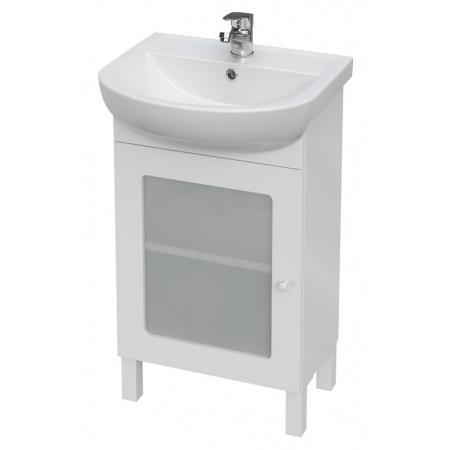 Cersanit Arteco Set 876 Zestaw Szafka podumywalkowa 50 cm stojąca z umywalką, biały S801-184