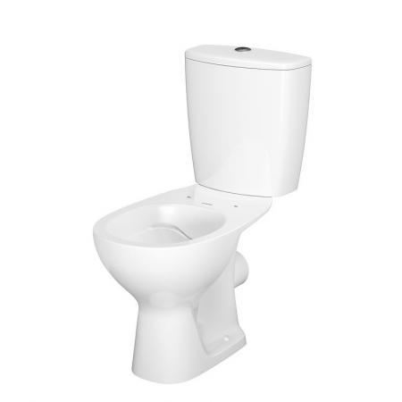 Cersanit Arteco Toaleta WC kompaktowa 66,5x36 cm CleanOn z deską antybakteryjną, biała K667-057