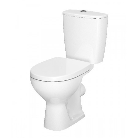 Cersanit Arteco Toaleta WC kompaktowa 66,5x36 cm CleanOn z deską wolnoopadającą, biała K667-056