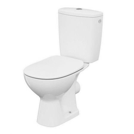 Cersanit Arteco Toaleta WC kompaktowa 66,5x36 cm CleanOn z deską wolnoopadającą, biała K667-069