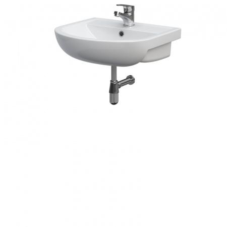 Cersanit Arteco Umywalka meblowa 50x43x14,5 cm, biała K667-007