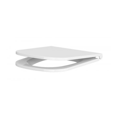 Cersanit Caspia Slim Deska sedesowa wolnoopadająca cienka, biała K98-0145