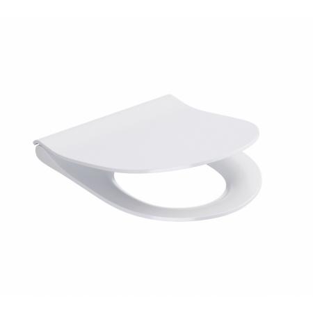 Cersanit City Oval Slim Deska sedesowa wolnoopadająca antybakteryjna, biała K98-0146