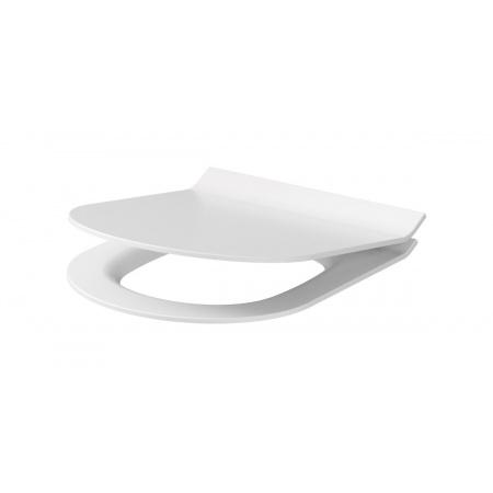 Cersanit City Deska sedesowa wolnoopadająca antybakteryjna cienka typu Slim, biała K98-0134