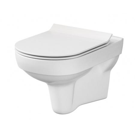 Cersanit City New Toaleta WC podwieszana 53x37 cm CleanOn bez kołnierza, biała K35-028