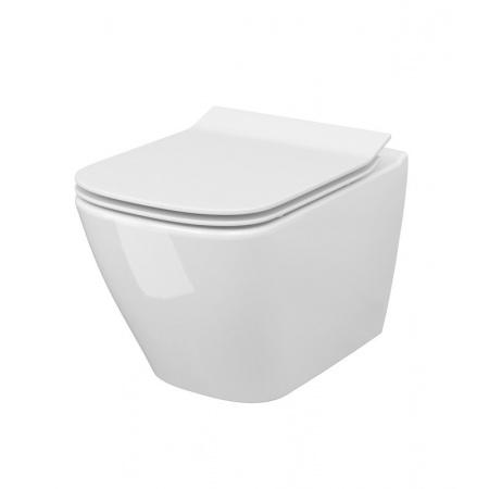 Cersanit City Square Toaleta WC podwieszana 51x34,5 cm CleanOn bez kołnierza biała K35-041