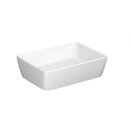 Cersanit City Umywalka nablatowa 50,5x35,5 cm biała K35-048