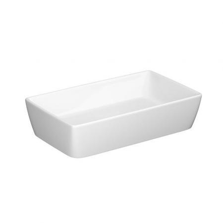 Cersanit City Umywalka nablatowa 60,5x36 cm biała K35-047