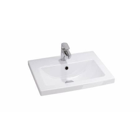 Cersanit Como Umywalka meblowa prostokątna 50x40 cm, biała K32-002-BOX