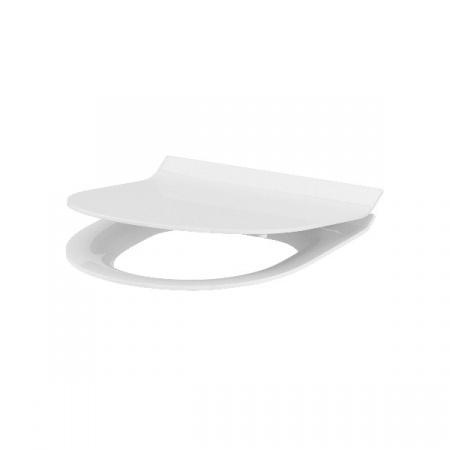 Cersanit Crea Deska sedesowa wolnoopadająca owalna wypinana cienka Slim, biała K98-0177
