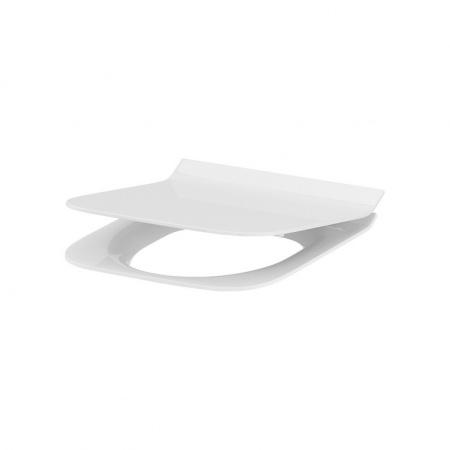 Cersanit Crea Deska sedesowa wolnoopadająca prostokątna wypinana cienka Slim, biała K98-0178
