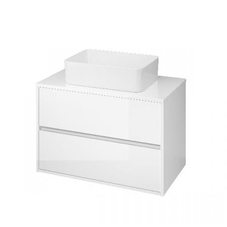 Cersanit Crea Szafka podumywalkowa 79,4x45x53 cm z blatem uniwersalnym, biała S924-005