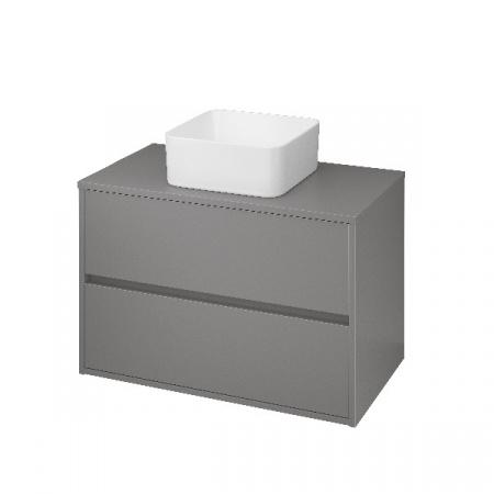 Cersanit Crea Szafka podumywalkowa 79,4x45x53 cm z blatem uniwersalnym, szary mat S924-018