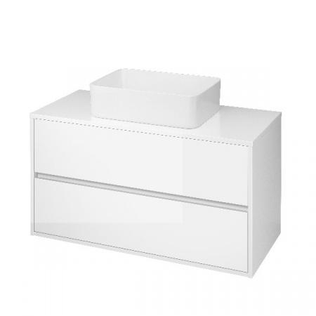Cersanit Crea Szafka podumywalkowa 99,4x45x53 cm z blatem uniwersalnym, biała S924-006