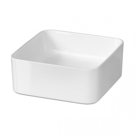 Cersanit Crea Umywalka nablatowa 35x35 cm bez otworów, biała K114-007
