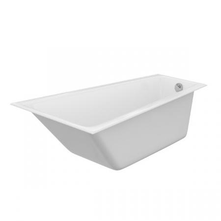 Cersanit Crea Wanna asymetryczna 160x100 cm akrylowa lewa, biała S301-232