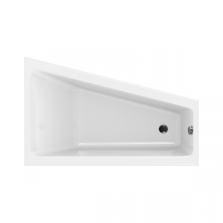 Cersanit Crea Wanna asymetryczna 160x100 cm akrylowa prawa, biała S301-230