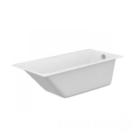 Cersanit Crea Wanna prostokątna 160x75 cm akrylowa, biała S301-225