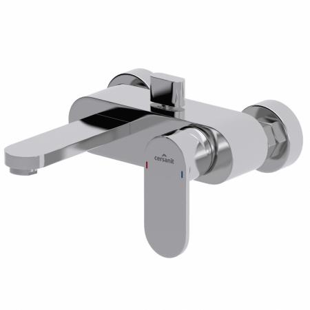 Cersanit Elio Jednouchwytowa bateria wannowo-prysznicowa ścienna, chrom S951-007