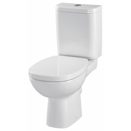 Cersanit Facile Toaleta WC kompaktowa 33,5x62,5x79,5 cm z deską wolnoopadającą, biała K30-008