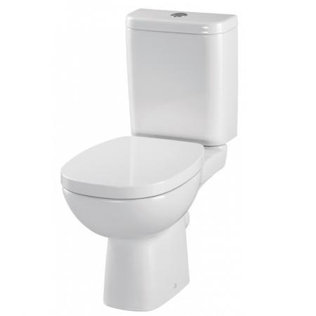 Cersanit Facile Toaleta WC kompaktowa 33,5x62,5x79,5 cm z deską zwykłą, biała K30-017