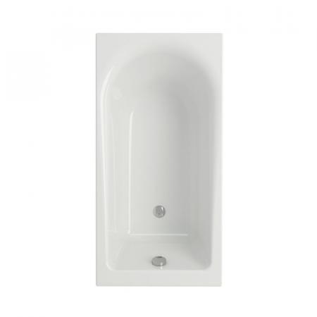 Cersanit Flavia Wanna prostokątna 140x70x42 cm, biała S301-104