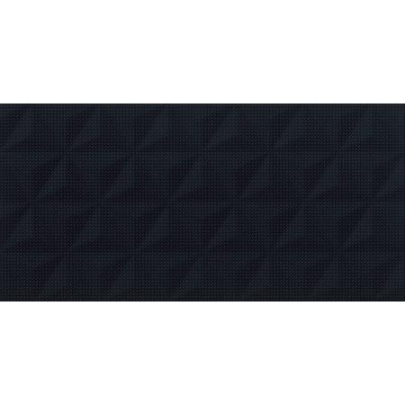 Cersanit Good Look PS802 Black Satin Geo Structure Płytka ścienna 29x59 cm, czarny W566-010-1